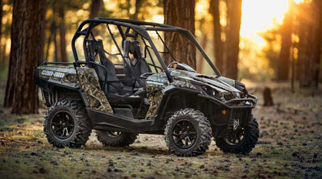 Can-am Commander Mossy Oak Hunting Edition