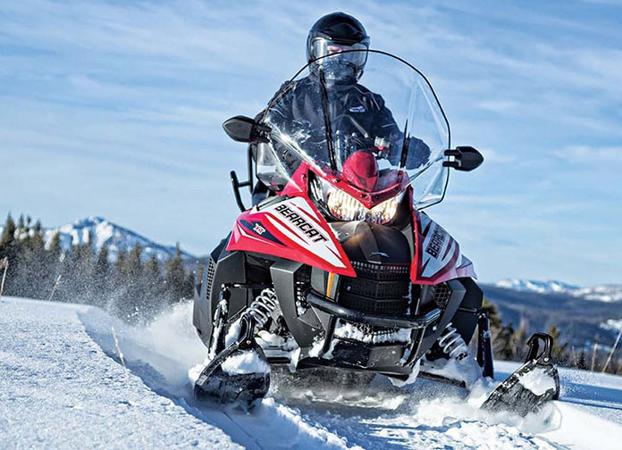 Модель Arctic Cat Bearcat 7000 XT 2016
